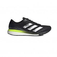 Adidas Adizero Boston 9 Sneakers Black Yellow Fluor SS21