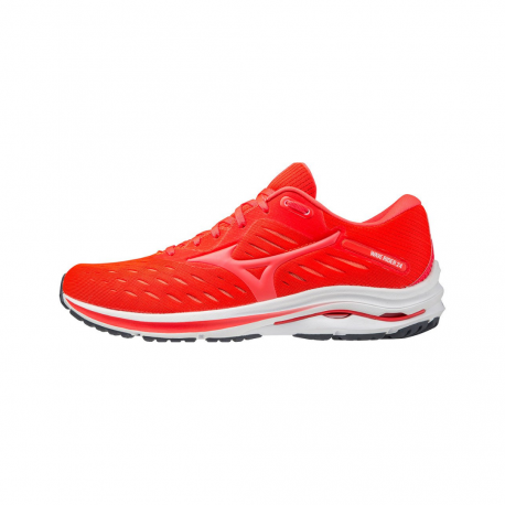 Mizuno Wave Rider 24 Red White SS21 Shoes