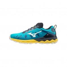 Zapatillas Mizuno Wave Daichi 6 Azul Amarillo PV21