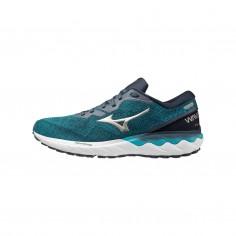 Mizuno Wave Skyrise 2 Blau Grau Weiß SS21 Schuhe