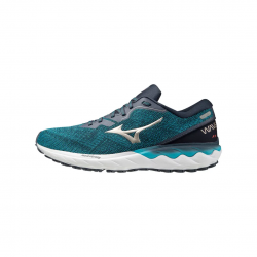 Zapatillas Mizuno Wave Skyrise 2 Azul Gris Blanco PV21