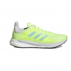 Zapatillas Adidas Solar Glide 3 Amarillo Fluor PV21 Mujer