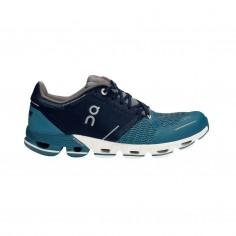 Zapatillas On Cloudflyer Azul oscuro Blanco Mujer