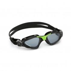 Aqua Lung Kayenne Swimming Goggles Black Green Clear Lens