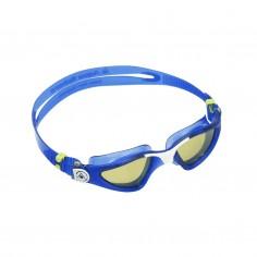 Aqua Sphere Kayenne Swimming Goggles Blue White Yellow Polarized Lenses