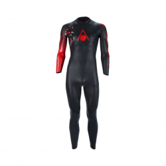 Neopreno Aqua Sphere Racer 3 Negro Rojo