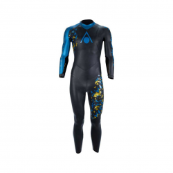 Aqua Sphere Phantom V3 Wetsuit Black Blue Gold