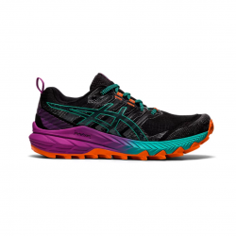 Asics Gel Trabuco 9 Black Purple Orange SS21 Women's Running Shoes