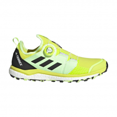 Zapatillas Adidas Terrex Agravic BOA Trail Running Amarillo Negro PV21