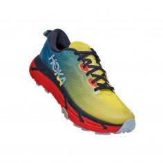 Hoka One One Mafate Speed 3 Red Yellow Blue SS21 Shoes