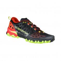 La Sportiva Bushido II Shoes Black Green Red SS21