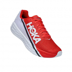 Hoka One One Rocket X Red White SS21 Unisex Sneakers