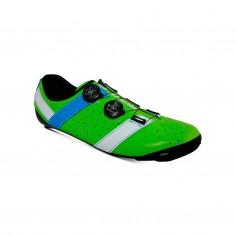 Bont Vaypor + Kangaroo Leather Shoes Green Blue