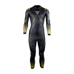 Phelps Phantom 2.0 Black Yellow Mens Wetsuit