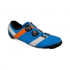 Bont Vaypor + Kangaroo Leather Shoes Blue Orange
