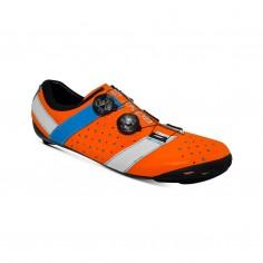Bont Vaypor + Kangaroo Leather Shoes Orange Blue