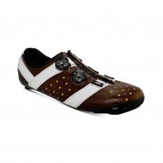 Bont Vaypor + Kangaroo Leather Shoes Brown White