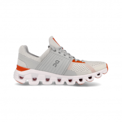 On Cloudswift Trainers White Orange