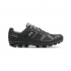 On Cloudventure Waterproof Shoes Black Dark gray