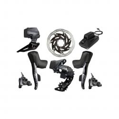 SRAM Force eTap AXS HRD FM 2x12 speed gear group set