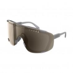 Gafas POC Devour Gris lentes Marrón