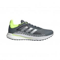 Adidas Solar Glide ST 3 Running Shoes Gray Light Green SS21