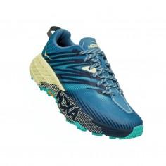 Hoka One One Speedgoat 4 Blue Green SS21 Women's Shoes