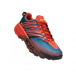 Hoka One One Speedgoat 4 Blue Red SS21 Shoes