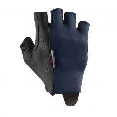 Castelli Rosso Espresso Savile Blue Gloves