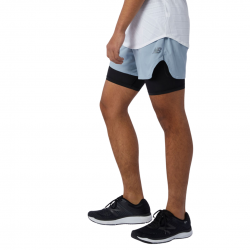New Balance Q Speed Fuel 2 in 1 5 Inch Short Shorts