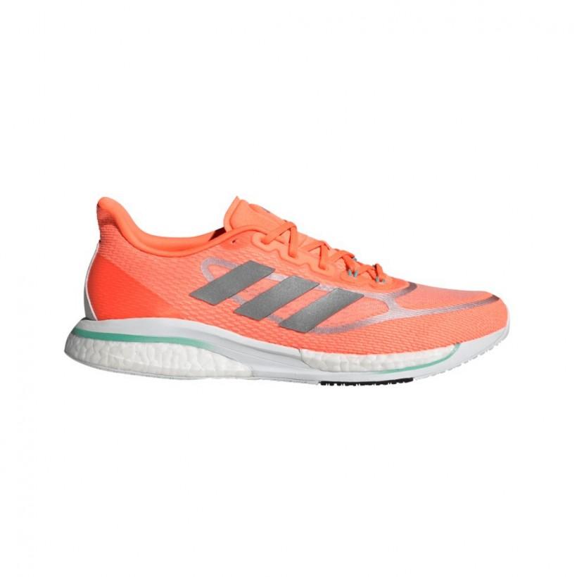 Adidas Supernova + Running Shoes Orange White SS21