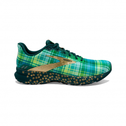 Brooks Launch 8 Shoes Green Gold Woman SS21