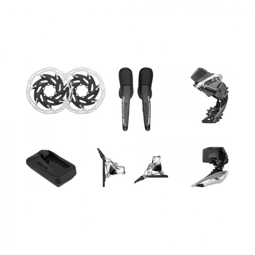 SRAM Red eTap AXS HRD FM 2x12 speed gearshift group set