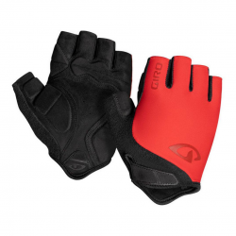 Giro Jag Short Gloves Red Black