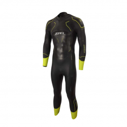 Zone3 Vision Wetsuit Black Yellow Man 2021