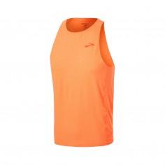 Brooks Atmosphere Singlet Sleeveless Orange T-Shirt