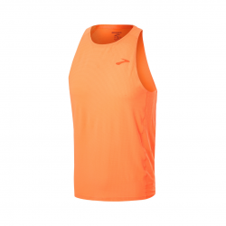 Camiseta Brooks Atmosphere Singlet Sin mangas Naranja