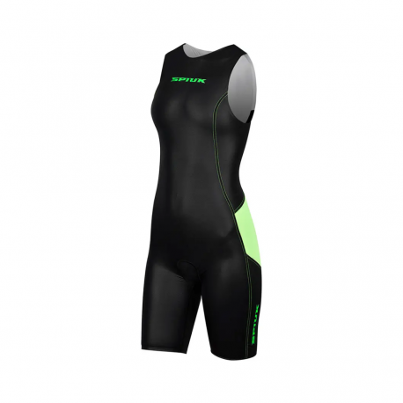 Spiuk Elite Women's Tri Suit Black / Green