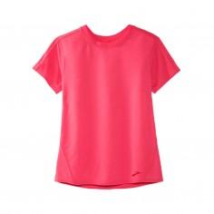 Brooks Distance Short Sleeve Pink Woman T-Shirt