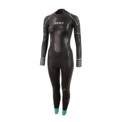 Zone3 Advance Wetsuit Black Blue Woman 2021
