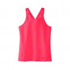 Brooks Pick up Sleeveless Pink Woman T-Shirt