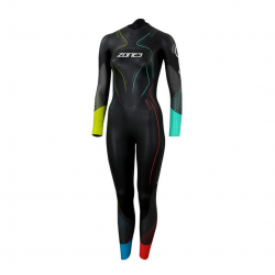 Zone3 Aspire Limited Edition Wetsuit Green Blue Woman 2021