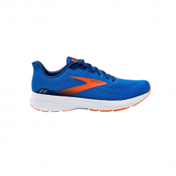 Zapatillas Brooks Launch 8 Azul Naranja SS21