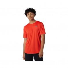 New Balance Q Speed Fuel Short Sleeve Orange T-Shirt