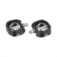 Shimano PD-M647 MTB Pedals Black Silver