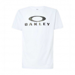 Camiseta Oakley Enhance QD SCI O Bark 11.0 Blanco