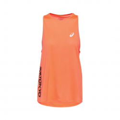 ASICS Future Tokyo Sleeveless Orange Woman T-Shirt