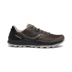 Saucony Peregrine 11 Running Shoes Black Gray SS21