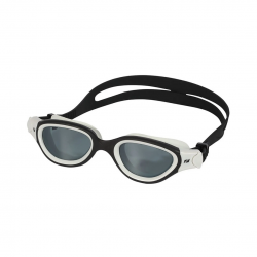 Zone3 Venator-X Swimming Goggles Black White with Black Clear Lenses