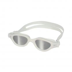 Zone3 Venator-X Swimming Goggles White with Gray Mirrored Lenses